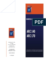 Operating Manual Arc Welders