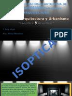 Isoptica y Acustica