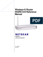 Netgear WGR614v9 UM 14May08 Reference Manual