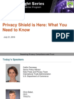 Privacy Shield is Here – What You Need to Know | TRUSTe Webinar