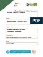 Tesis Completa. Ernesto I..Evaluación del Riesgo Sísmico en Edificios Especiales