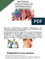 Bacterias Productoras de Enfermedades Alimentarias