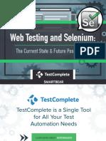 Web Testing and Selenium