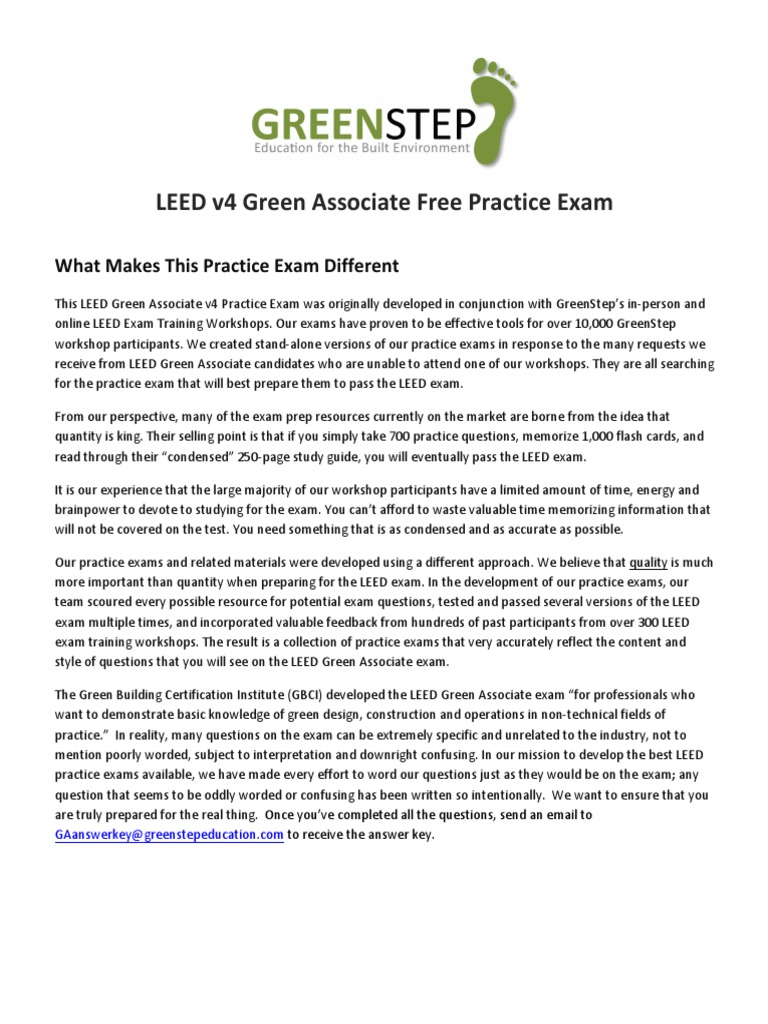 Greenstep free leed v4 practice exam27071625 q leadership in greenstep free leed v4 practice exam27071625 q leadership in energy and environmental design ventilation architecture xflitez Images