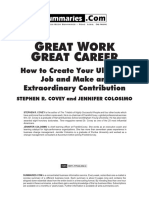 Great Work Great Career (FREE Edition)