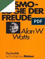 155017430 Alan W Watts Kosmologie Der Freude