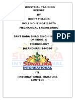 119141376 Sonalika Training Report