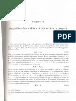Chapitre 19 Propriétés Des Valeurs Et Des Vecteurs Propres