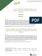 Literacia digital e literacia informacional- breve análise dos conceitos a partir de uma revisão sistemática de literatura