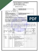 Notification for Recruitment in DDA 2016200516.pdf