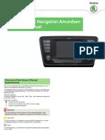 A7 Octavia Amundsen InfotainmentNavigation