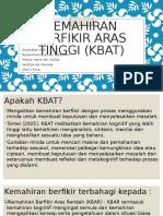 Kemahiran berfikir aras tinggi (Kbat).pptx