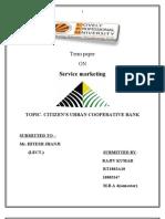 Term Paper Service Marketing RT1802A10