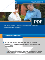HR Renewal Intelligence enabled ess_mss