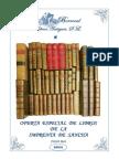 Oferta especial de libros de la imprenta de Sancha (s.XVIII-XIX)