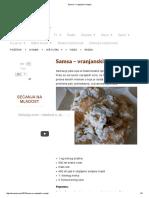 Samsa – Vranjanski Recept