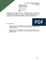 Examen Aragon Primaria