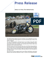 PR 172 2016 European Sidecar at Vries the Netherlands