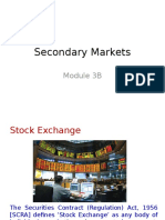 Module 3 Secondary Markets