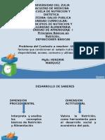 Definiciones básicas en nutrición