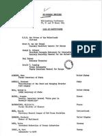Bilderberg Meeting Participants (1964)