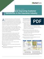 MarketTools CustomerSat_Insurance Industry Solution Brief