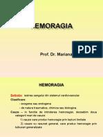 Curs 3 - Hemoragia