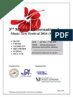 Festival Package (30!06!2016)