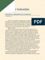 Alexandr Soljenitin - Discurs La Harvard N.pdf
