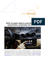 KDDI en Japón elige la solución de IoT y automóviles conectados de Gemalto_1
