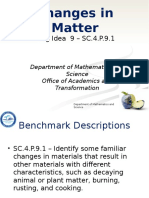 sc 4 p 9 1 - changes in matter ppt