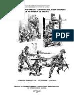 Manual de Combate Urbano Convencional Para Unidades