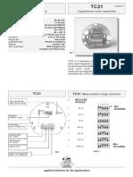 TC_21 Capacitance Level Transmitter