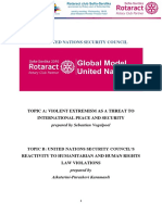Rotaract ModelUN 2016 Security Council Study Guide