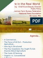 Understanding the Farm Economy