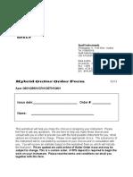 2013_Hybrid Guitar Order Form