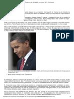 A Política Do Ódio - 06-10-2009 - UOL Notícias - NYT - Paul Krugman