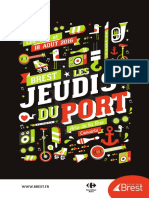 Jeudis Du Port. La programmation du 4 août