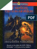 El Señor de los Anillos - Manual de El Señor de los Anillos 2da Ed. (Libro negro)
