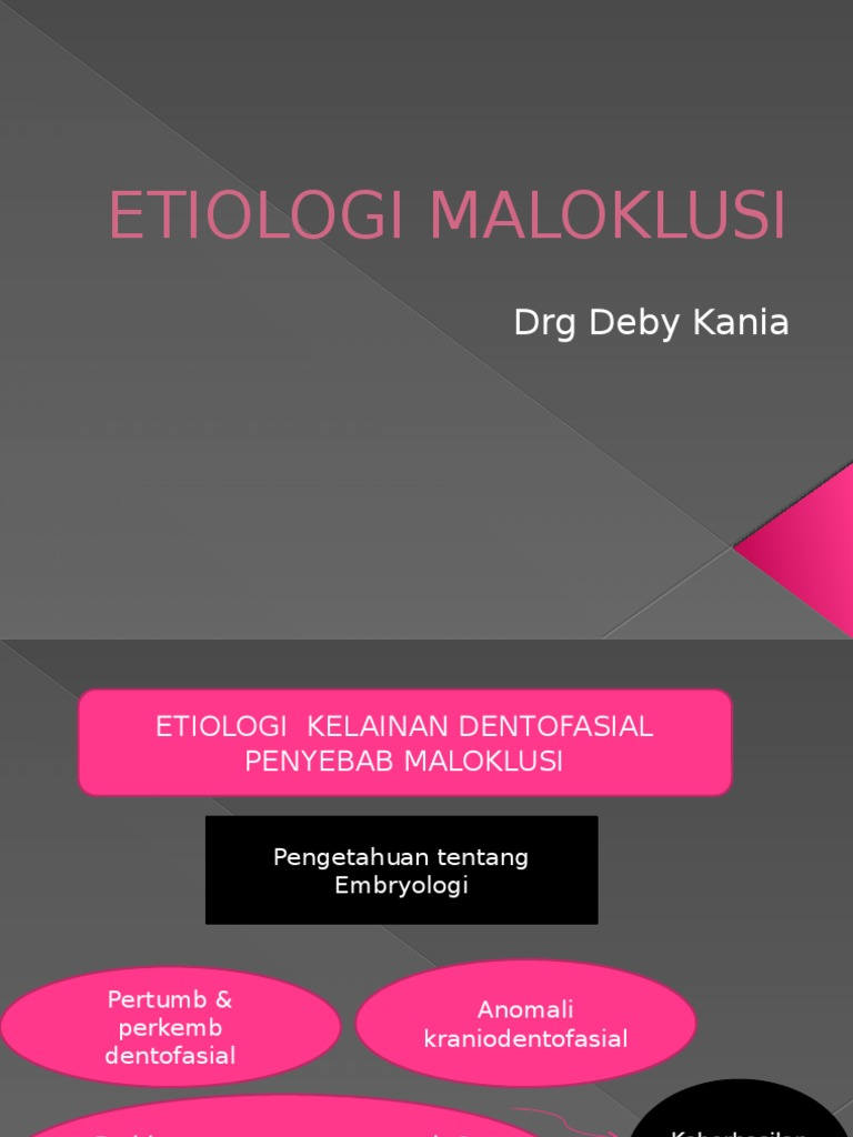 Ppt Etiologi Maloklusi Blok 8 9a91545efb