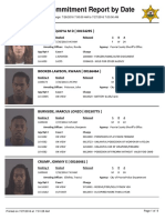 Peoria County Jail Booking Sheet for July 27, 2016