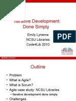 Lynema Iterative Development