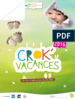Catalogue Crok'Vacances 2016 Ci Ortf