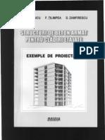 Structuri de Beton Armat Pentru Cladiri Etajate - Exemple de Proiectare