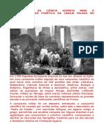 Contribuições Da Ciência Espírita Para o Conhecimento Da Fonética Da Língua Falada No Antigo Egito