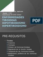1era Clase Endocrino Enfermedades Tiroideas Medicina III