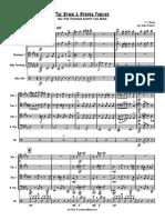 Stars & Stripes Forever for trombones quartet