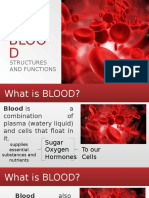 BLOOD Structures and Functions