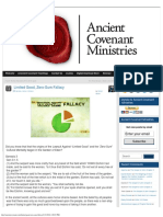 Limited Good, Zero-Sum Fallacy » Ancient Covenant Ministries