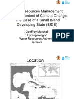 Water Resources Management Within the Context of Climate Final